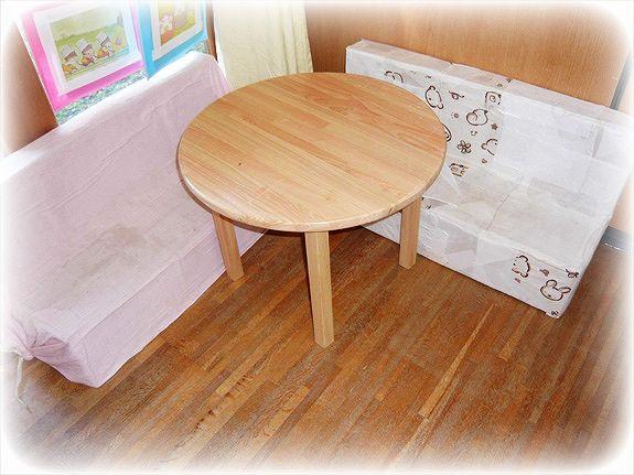 丸テーブル 500×500×350