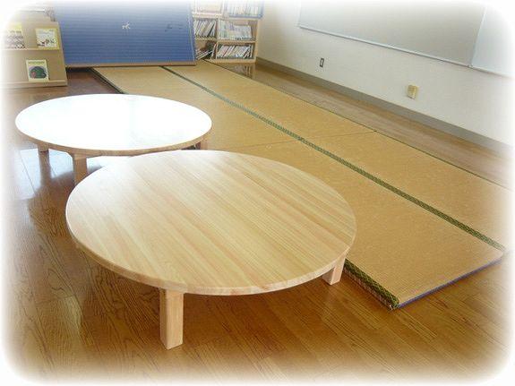 円型テーブル