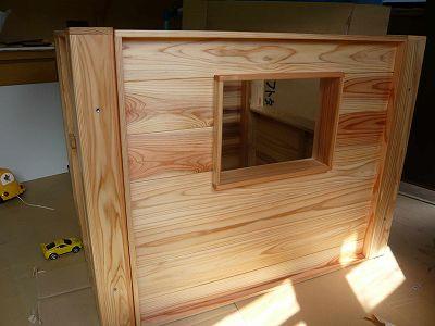 組み立て木製ミニハウス